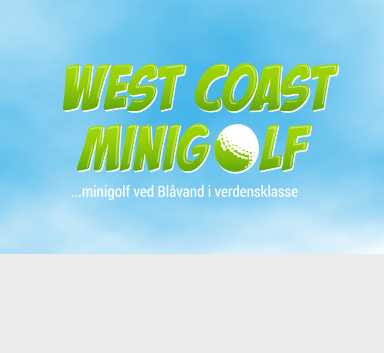 West Coast Minigolf opdatering af visuel identitet og website redesign