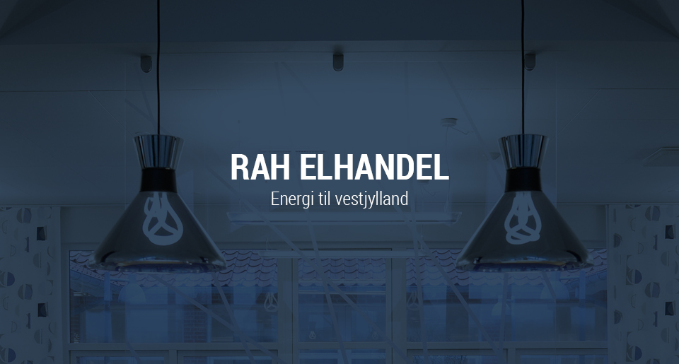 RAH Elhandel opdatering af visuel identitet og website redesign - Intro